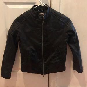 Black bikers jacket